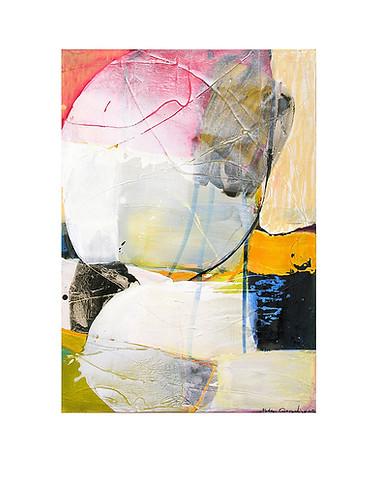 Abstract N66, 100 x 70 cm, acrylic on canvas