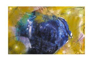 Abstract N67, 90 x 150 cm, acrylic on canvas
