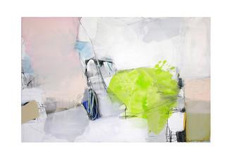 Abstract N38, 100 x 150 cm, acrylic on canvas