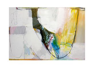 Abstract N31, 90 x 130 cm, acrylic on canvas