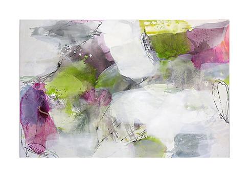 Abstract N82, 100 x 150 cm, acrylic on canvas