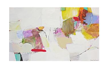 Abstract N68, 90 x 150 cm, acrylic on canvas