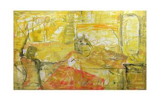 Matter, 120 x 200 cm, oil on canvas