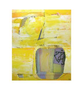 Abstract N4, 70 x 60 cm, mixed media