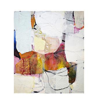 Abstract N55, 70 x 60 cm, acrylic on canvas