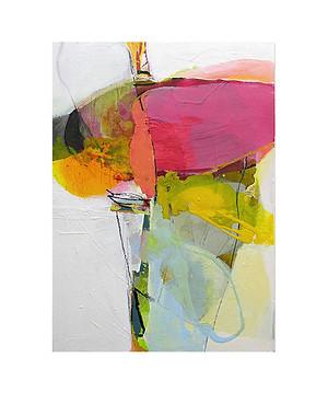 Abstract N53, 70 x 50 cm, acrylic on canvas
