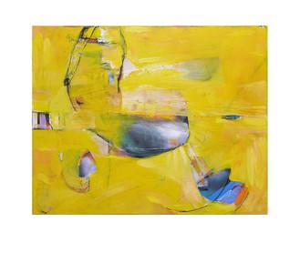 Abstract N17, 80 x 100 cm, acrylic on canvas