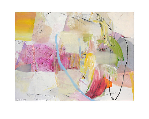 Abstract N65, 90 x 120 cm, oil on canvas