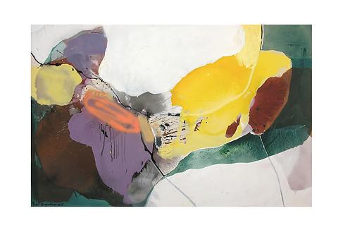 Abstract N27, 90 x 140 cm, acrylic on canvas