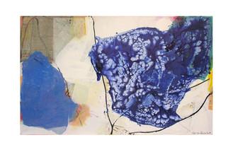 Abstract N72, 90 x 145 cm, acrylic on canvas