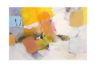 Abstract N96, 90 x 130 cm, acrylic on canvas