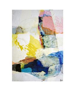 Abstract N61, 70 x 50 cm, acrylic on canvas