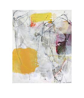 Abstract N63, 80 x 100 cm, acrylic on canvas