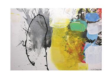 Abstract N62, 100 x 150 cm, acrylic on canvas