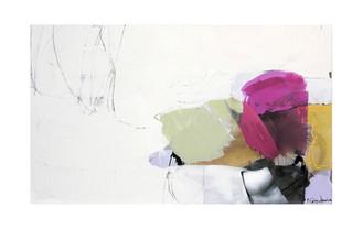 Abstract N29, 90 x 150 cm, acrylic on canvas