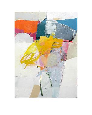 Abstract N54, 70 x 50 cm, acrylic on canvas