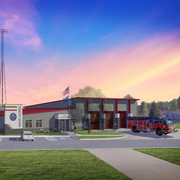 Warr Acres Fire Station