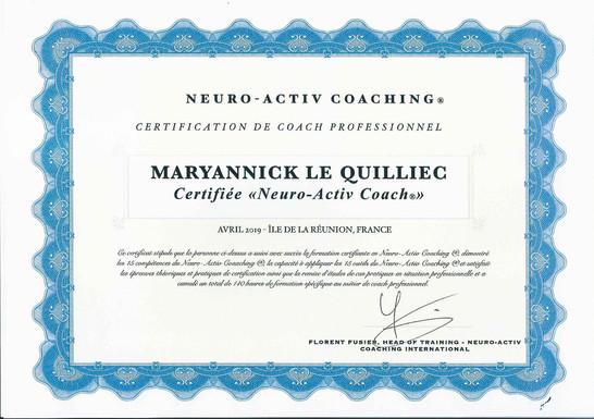 2019 04_ANDRE MARYANNICK_NEURO ACTIV COA