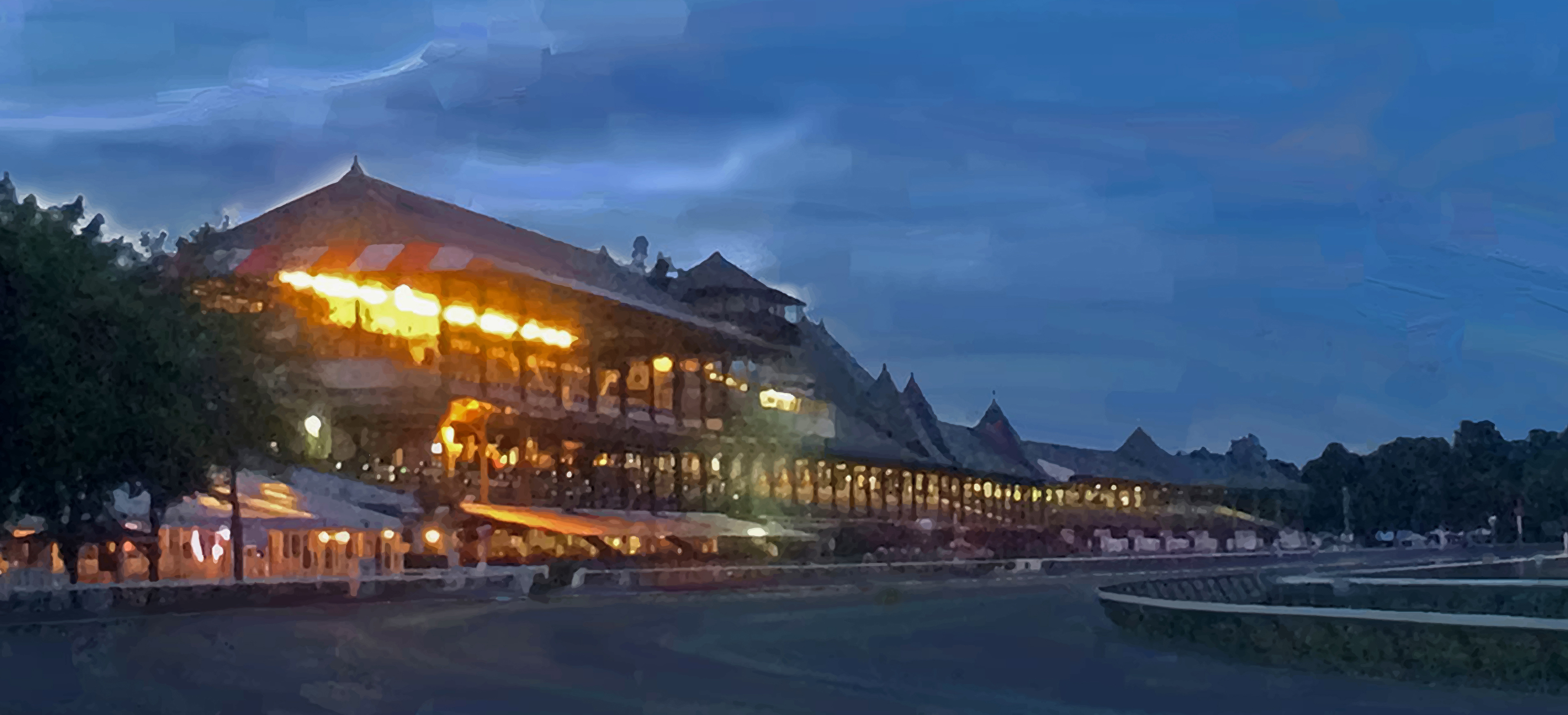 Dusk at the Spa