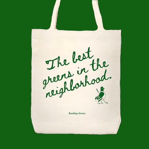 Brooklyn Greens Tote