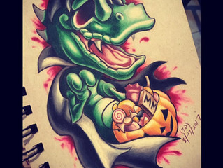 Your Next Tattoo. Dinosaurs, Anyone?