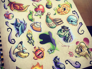 Super Fresh Tattoo Designs, Just in Time for Halloween!!