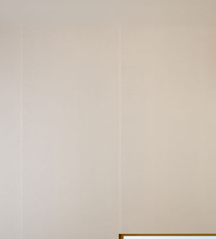 和紙貼りの壁