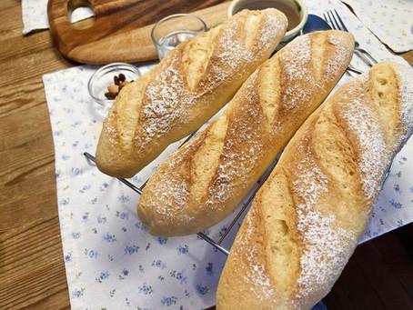 休みの朝、僕は一人でパンを焼く
