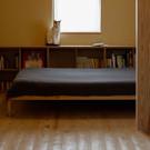 杉板無垢板床