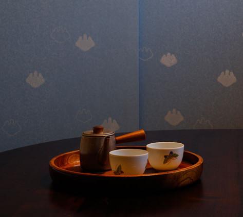 江戸唐紙の襖