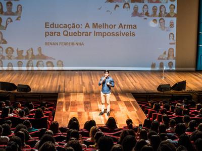 Palestra com Renan Ferreirinha