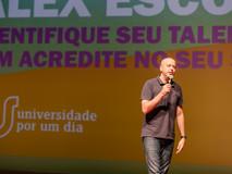 Palestra com Alex Escobar