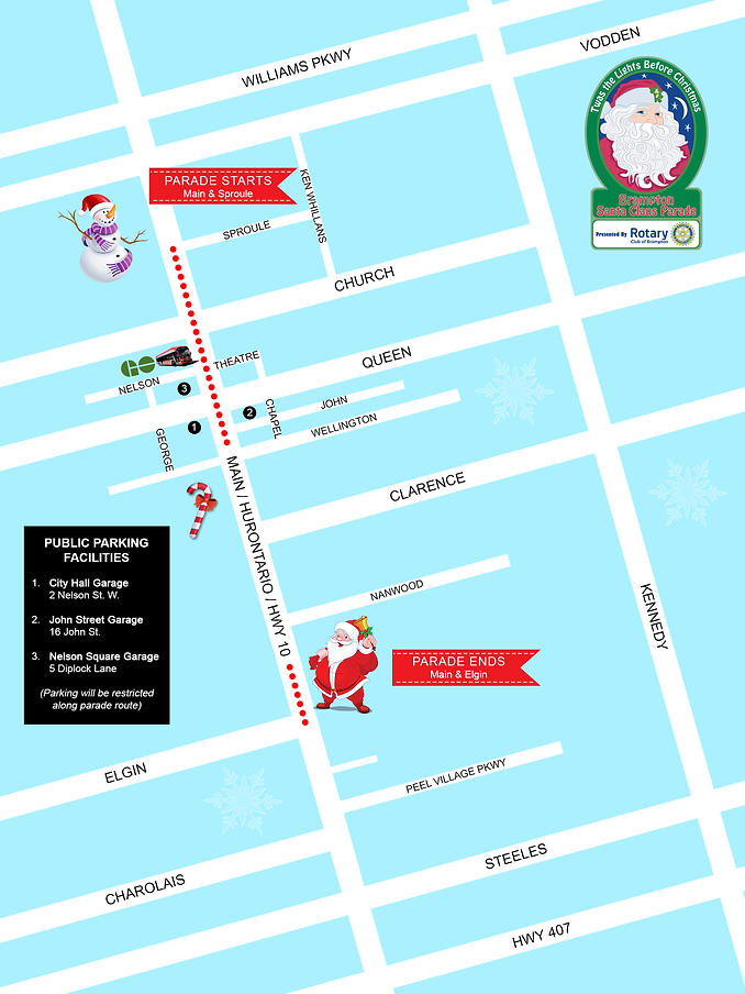 Brampton SC Parade Route Map-2.png