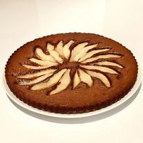 Chocolate Pear Tart