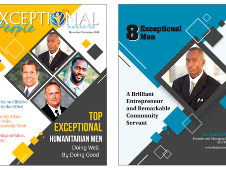 PRESS: Dr. Randal Pinkett Named as One of the Top Eight Exceptional Humanitarian Men of 2018