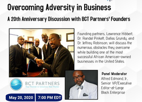 WEBINAR: Overcoming Adversity in Business - if you missed it, you can still get the recording here: