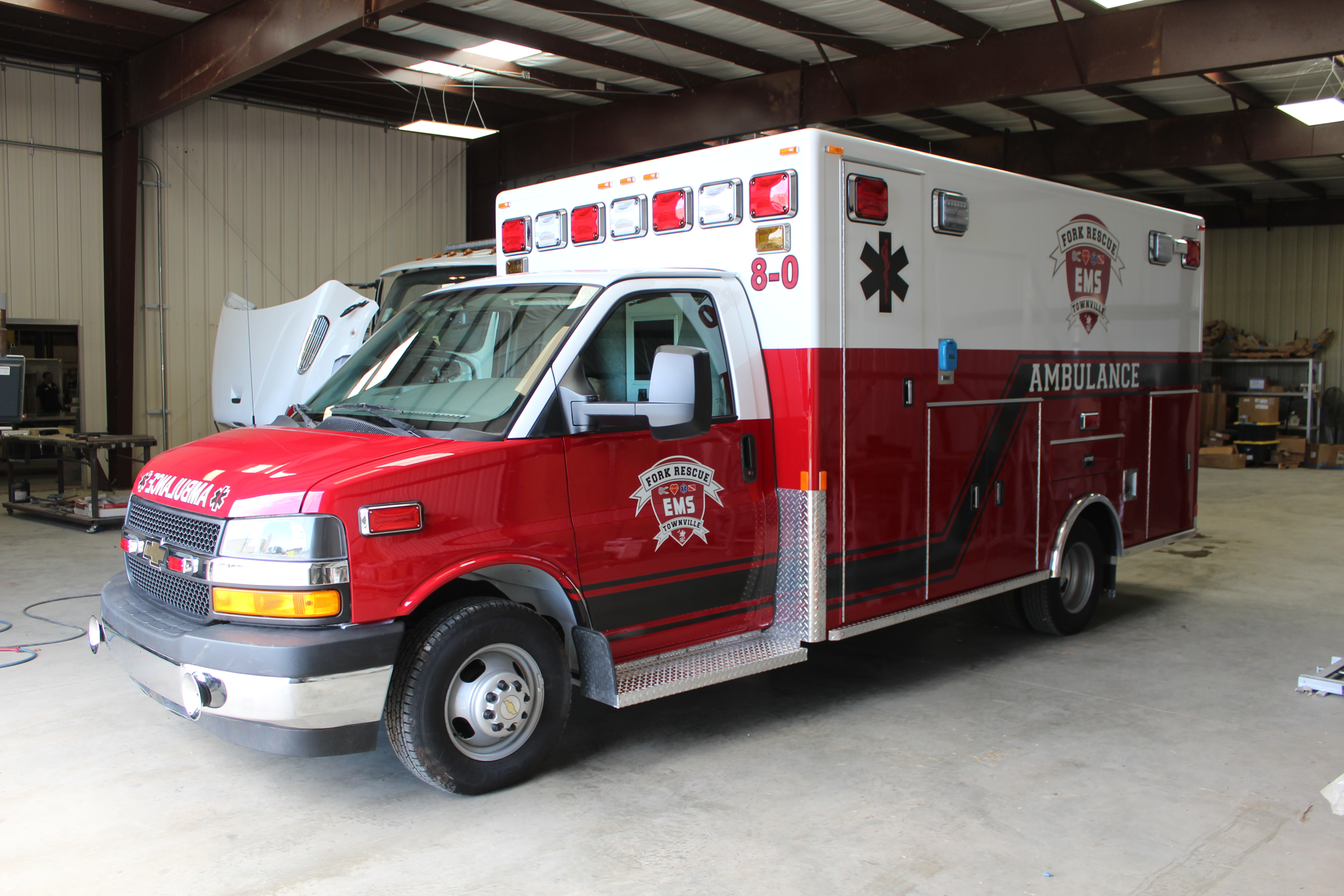 Ford Rescue, Type III Ambulance Rem