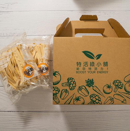 特活綠小舖-薑黃麵(附醬料包*2)-4組