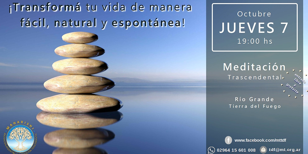 Charla Informativa sobre Meditación Trascendental