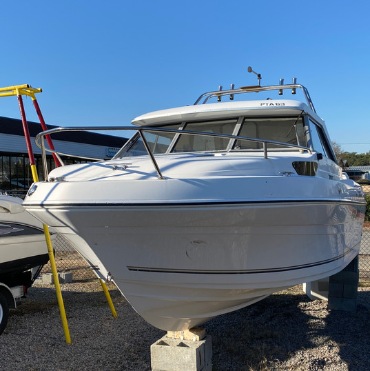 2007 Campion 622i SE view of bow.JPG