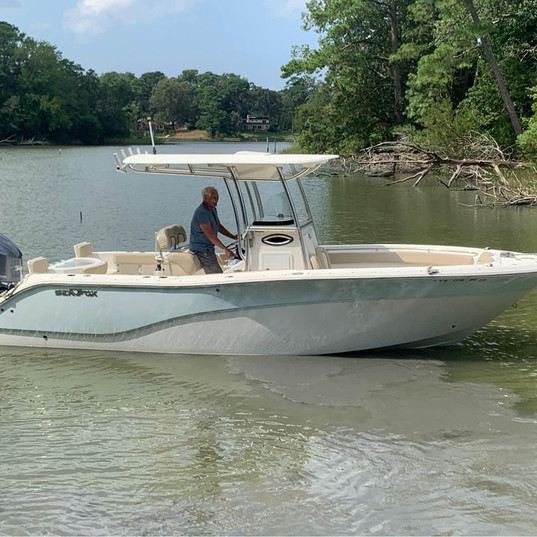 2012 Sea Fox 256 CC Coastal Marine VB696