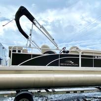 2020 Bennington S Series 18SL Used at Coastal Marine Sales & Services Virginia Beach_5557.