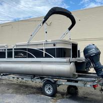 2020 Bennington S Series 18SL Used at Coastal Marine Sales & Services Virginia Beach_5549.