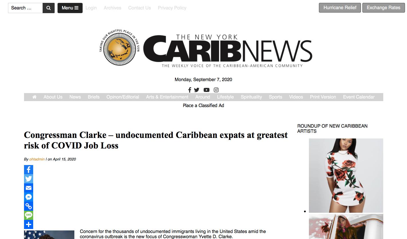 New York Carib News- JAYA COVID-19 Forum