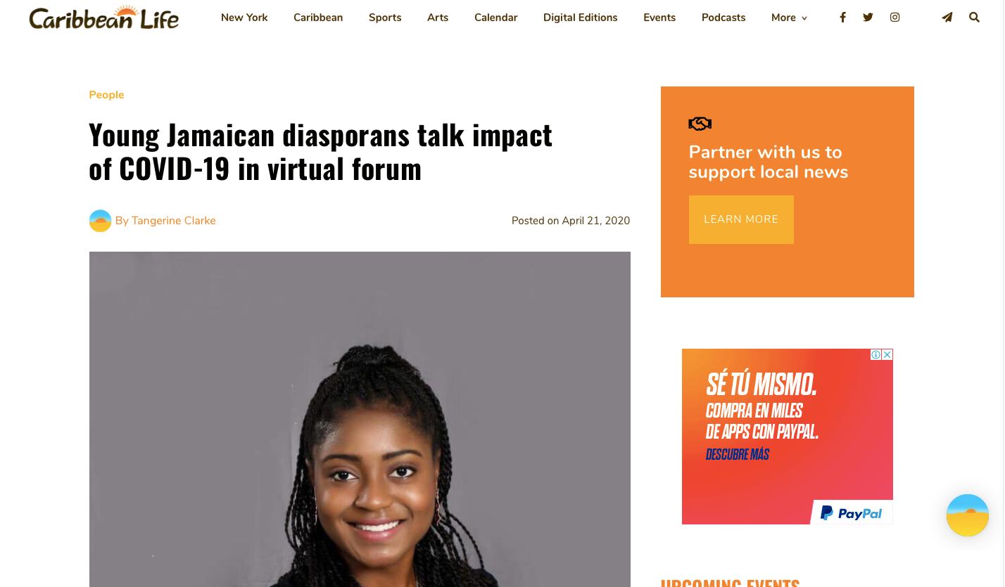 Caribbean Life News- JAYA COVID-19 Forum