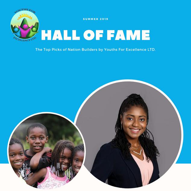 Hall of Fame- Summer 2019