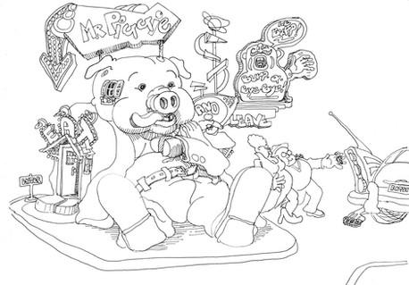 Mr Piggie, 1980