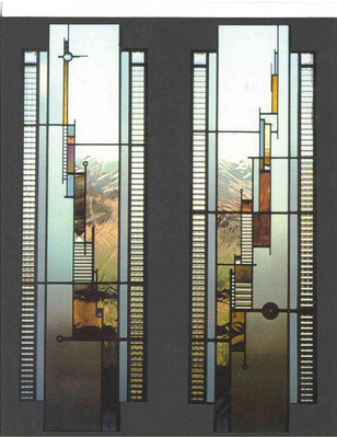 Durango CO Residence  Double Door Entry,  1994