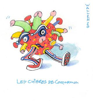 Le Coqorona Virus