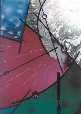 Diane, a portrait abstraction,  1996